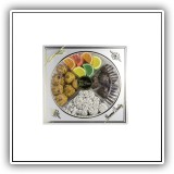 Candy & Macaroon Platter - Gift Box